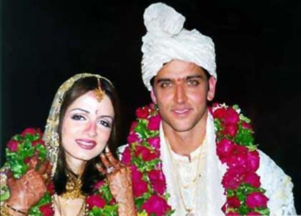 Hrithik Roshan and Suzanne Roshan wedding pics