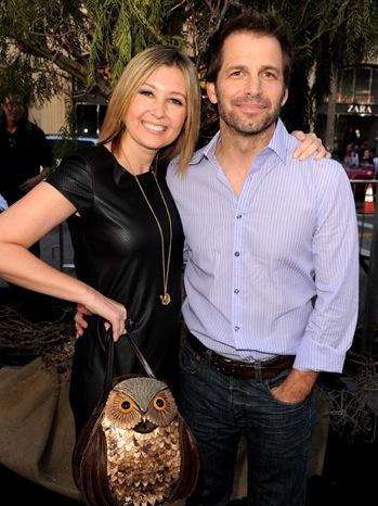 زاك سنايدر وزوجته