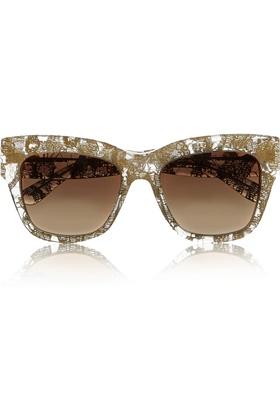 edcad3a12 صيحات عالمية جديدة للنظارات الشمسية