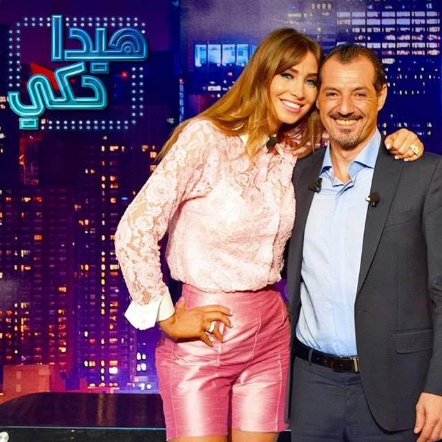 أنابيلا هلال في برنامج هيدا حكي