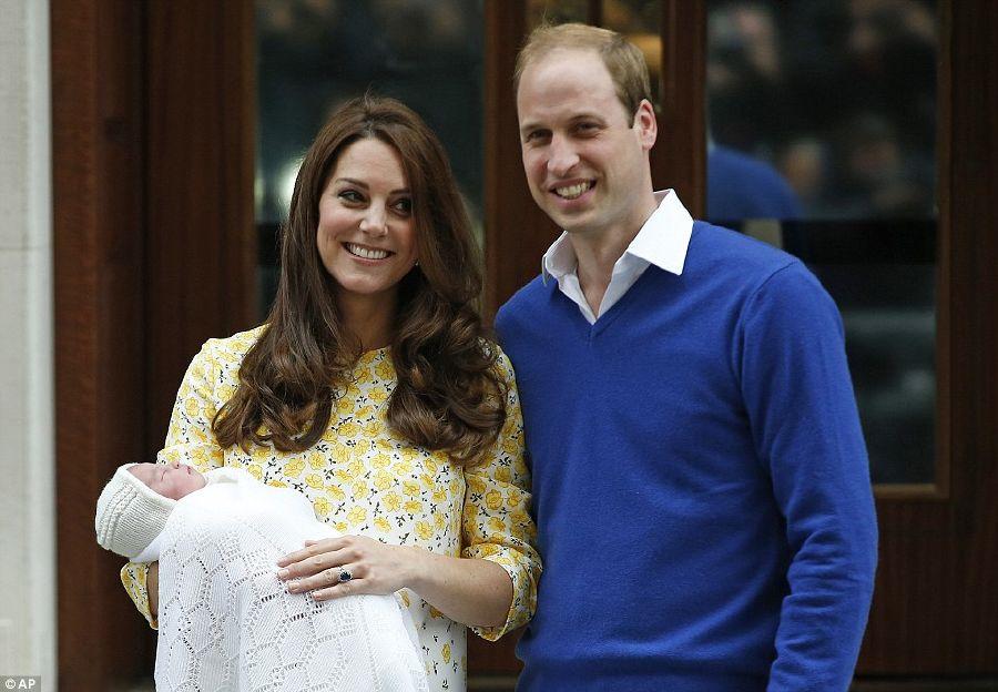 الأمير-ويليام-وزوجته-كيت-يقدمان-طفلتهما-للعالم-81