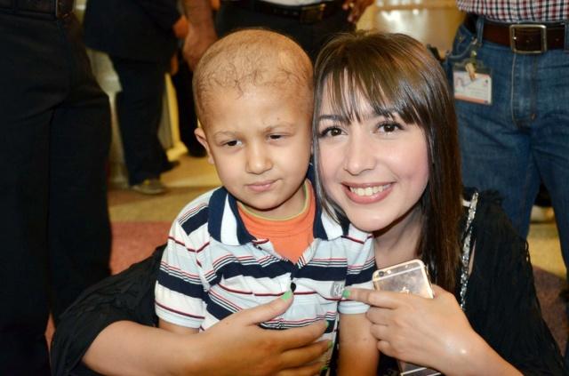 جنات بمستشفى سرطان الأطفال (1)
