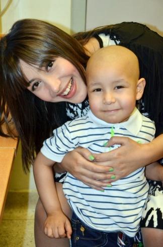 جنات بمستشفى سرطان الأطفال (2)