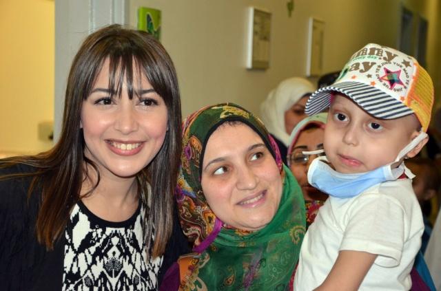 جنات بمستشفى سرطان الأطفال (3)