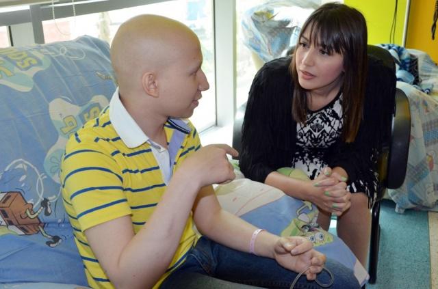 جنات بمستشفى سرطان الأطفال (7)