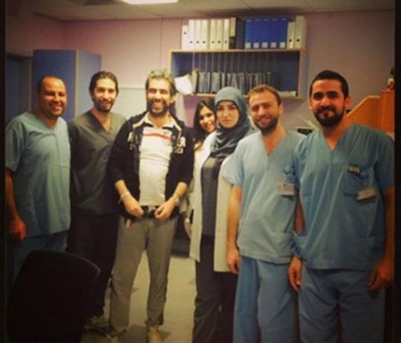 سعيد الماروق في غرفة العمليات