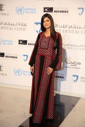 علا فارس بالثوب الأردني
