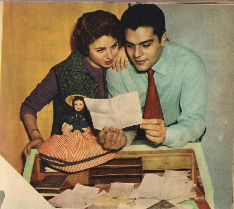 عمر الشريف و فاتن حمامة (2)
