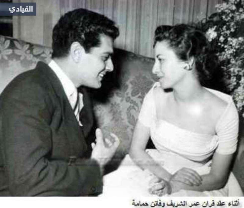 عمر الشريف و فاتن حمامة (4)