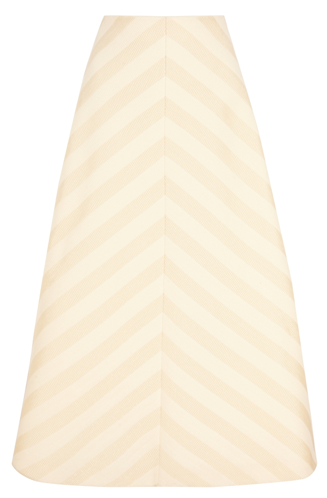 565239 Delpozo Ottoman A-line skirt NET-A-PORTER