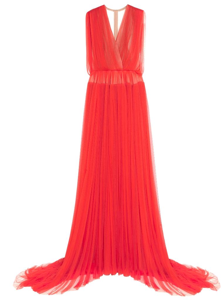 566828 Delpozo silk tulle gown NET-A-PORTER