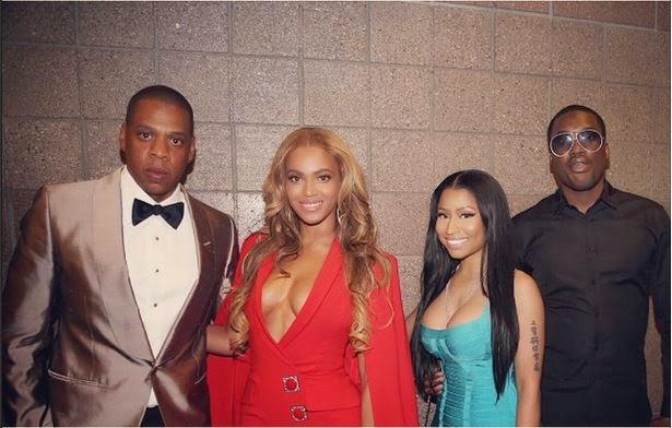 Beyonce-Jay-Z-Nicki-Minaj-Meek-Mill-at-Mayweather-Pacquiao-Fight-May-2015-3