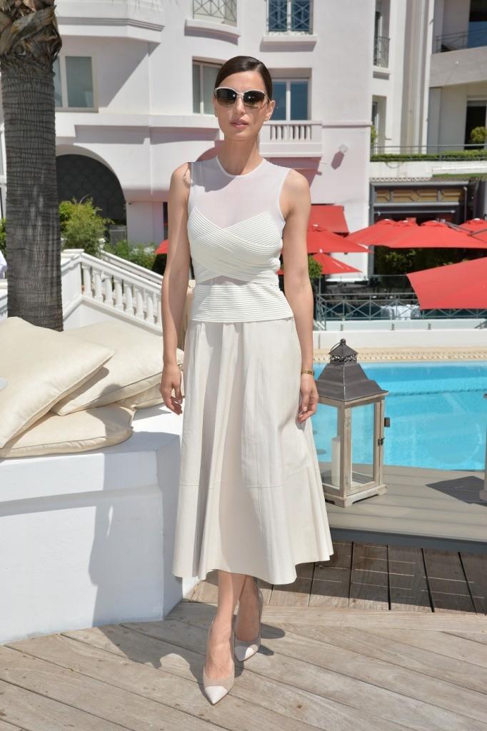 Catrinel Marlon wearing Salvatore Ferragamo - 68th Cannes Film Festival