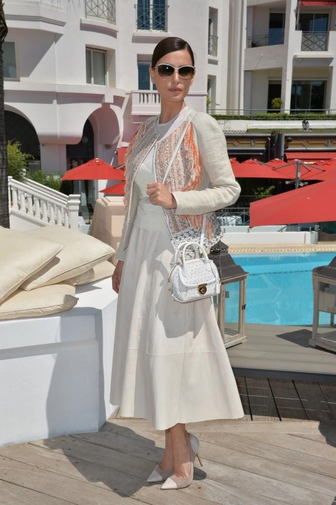 Catrinel Marlon wearing Salvatore Ferragamo - 68th Cannes Film Festival - SGP - high res 1