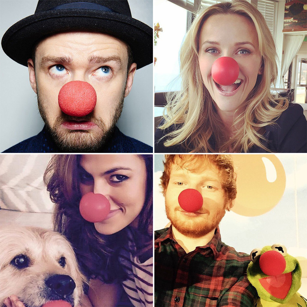 Celebrities-Share-Red-Nose-Day-Pictures-Social-Media