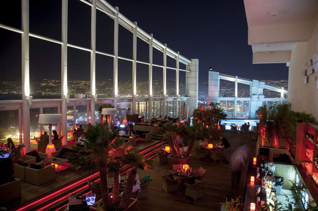 FSH Beirut - The Roof Interior View