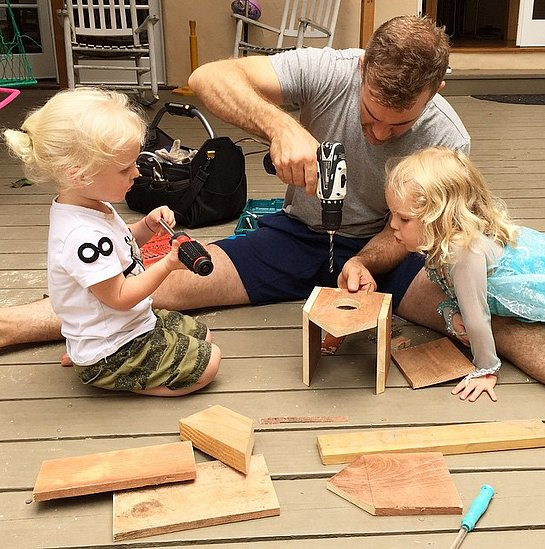 James-Van-Der-Beek-spent-some-time-his-kids-thoughtful