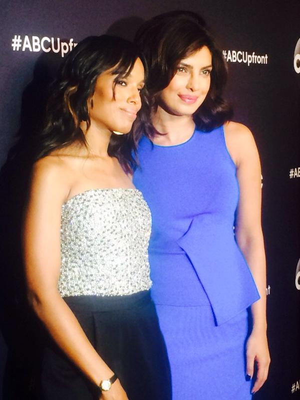 Priyanka Chopra  Kerry Washington