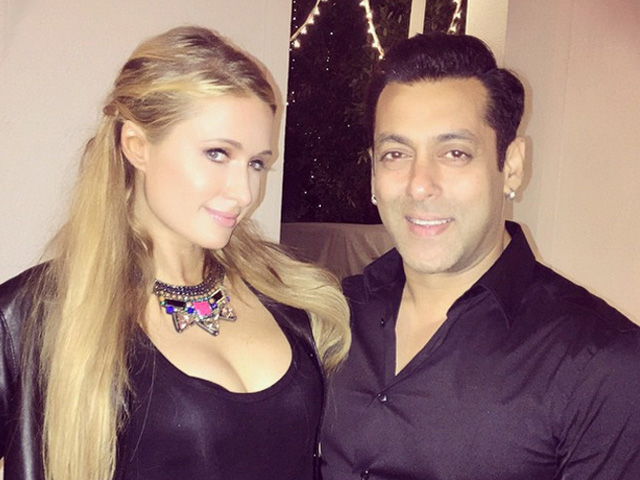 Salman Khan و Paris Hilton