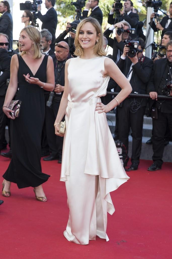 Tatiana Luter wearing Salvatore Ferragamo - 68th Cannes Film Festival