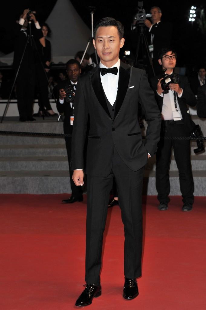 Zhang Yi wearing Salvatore Ferragamo - 68th Cannes Film Festival