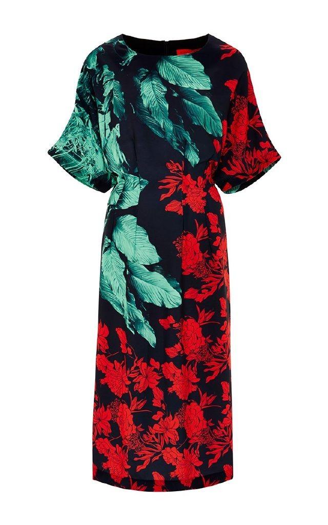 resized_CLOVER CANYON Hidden Jungle Printed Midi Dress $395