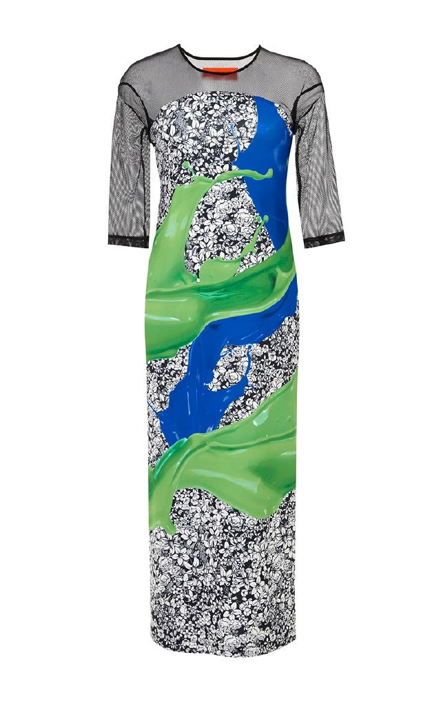 resized_CLOVER CANYON Wallpaper Splash Printed Dress $275