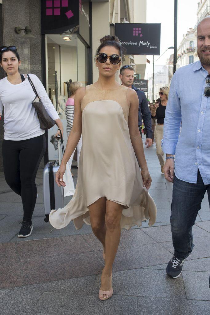 resized_Eva Longoria wearing Salvatore Ferragamo sunglasses - 68th Cannes Film Festival