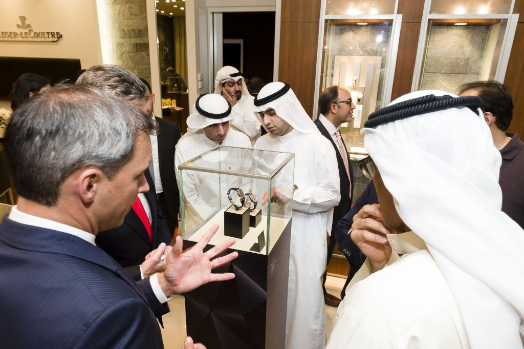 resized_Jaeger-LeCoultre SIHH 2015 reveal in Kuwait