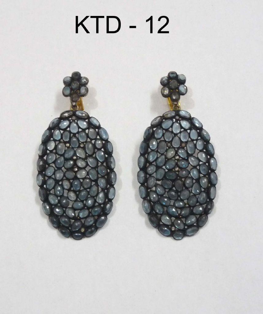 resized_KTD 12 BLUE TOPAZ EARRING