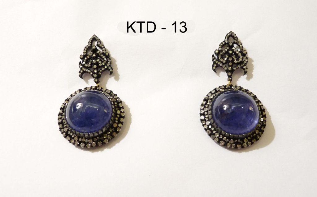 resized_KTD 13 TANZANITE EARRING