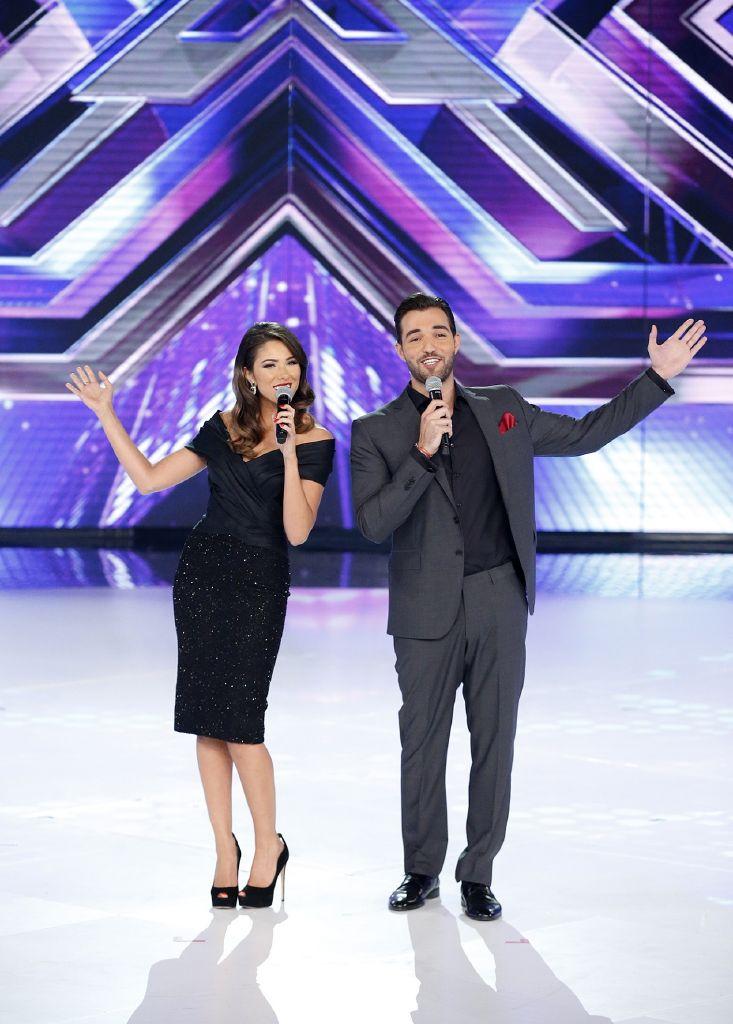 resized_MBC4 & MBC MASR - The X Factor - Presenters Daniella Rahme and Bassel Al Zaro (1)