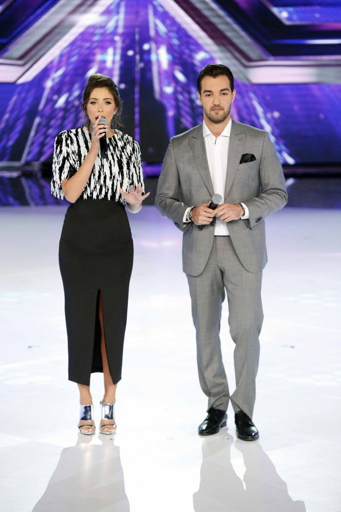 resized_MBC4 & MBC MASR - The X Factor - Presenters Daniella Rahme and Bassel Al Zaro