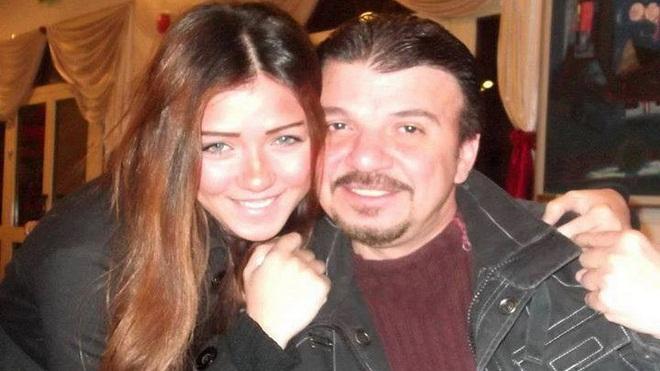 أحمد سلامة مع ابنته ساره