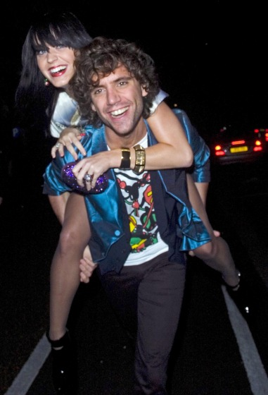Mika And Katy Perry Leaving The Serpentine Gallery Summer Party (USA AND OZ ONLY)