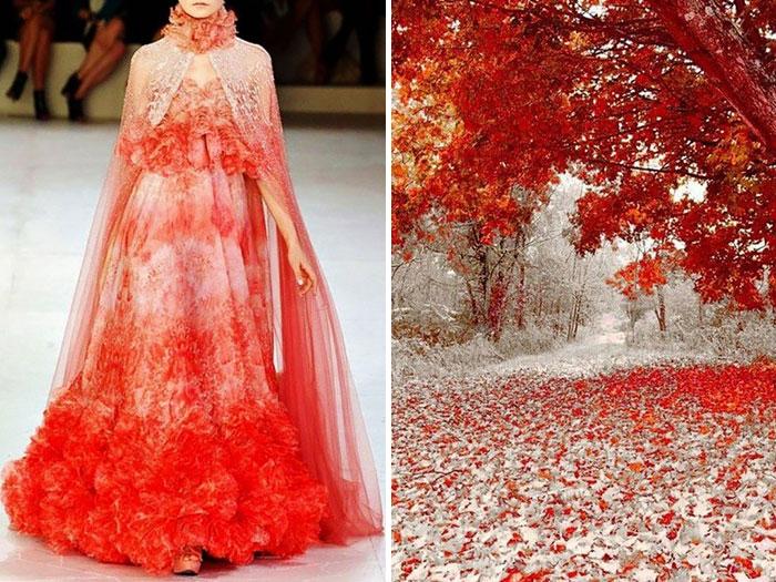 أول تساقط للثلوج في أمريكا مع فستان من ألكاسندر ماكوين