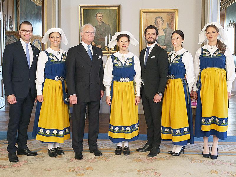 الأميرة مادلين ترتدي الزي التقليدي للسويد (4)