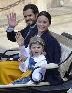الأميرة مادلين ترتدي الزي التقليدي للسويد (9)
