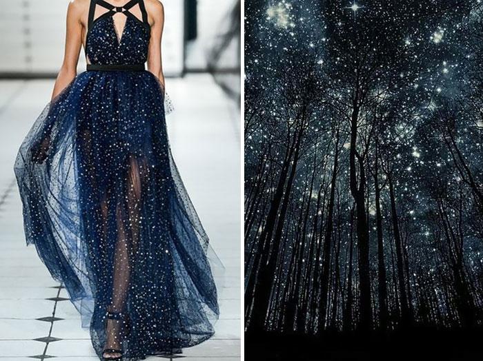 السمار والنجوم وفستان من جايسون وو لصيف 2014