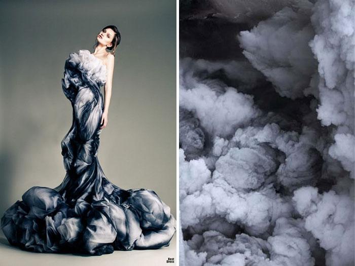 الغيوم وفستان من جان لويس صبجي لعام 2013