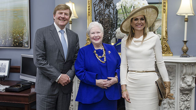 Visit by the King and Queen of the Netherlands
