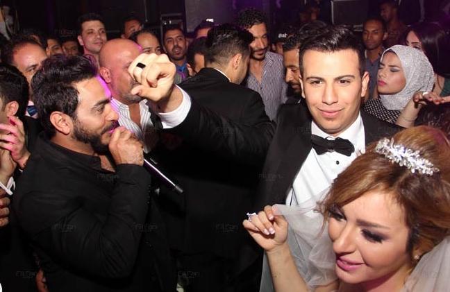 حفل زفاف شقيقة حمادة هلال (4)
