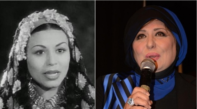 سهير رمزي ابنة الفنانة درية أحمد
