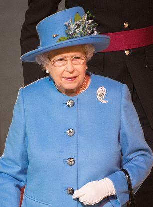 طفلة تهدي الملكة إليزابيث الثانية الورد فتتلقى صفعة قوية (2)