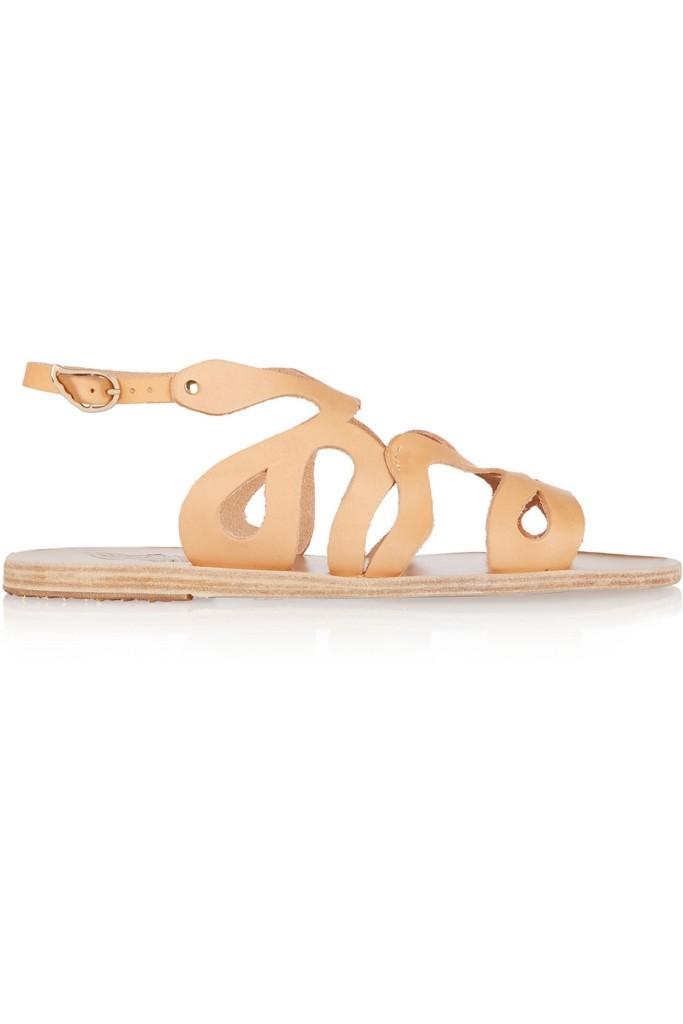 Ancient Greek Sandals_Echidna cutout leather sandals_THE OUTNET.COM