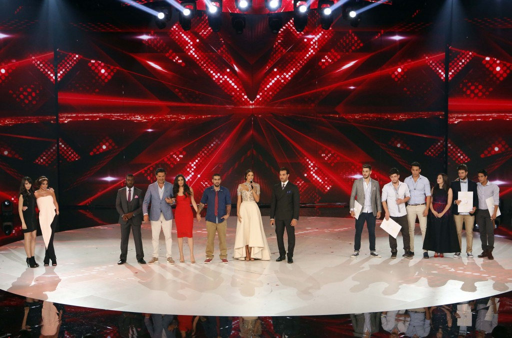 MBC4 & MBC MASR - The X Factor - All contestants
