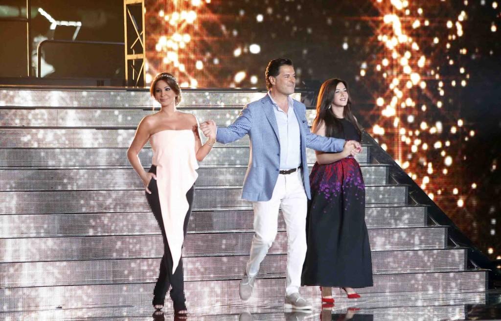 MBC4 & MBC MASR - The X Factor - Jury Entrance (1)