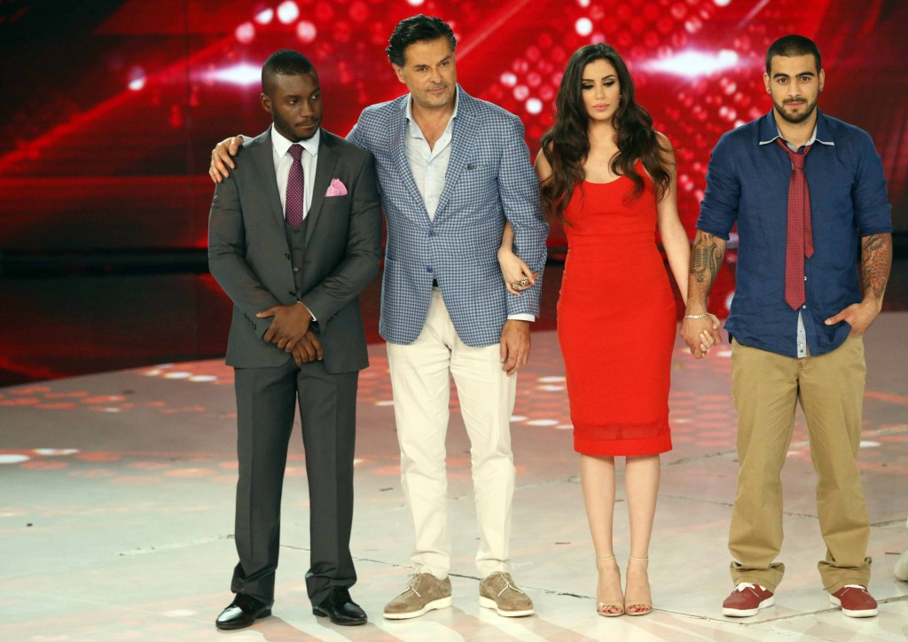 MBC4 & MBC MASR - The X Factor - Live 8 Results (1)