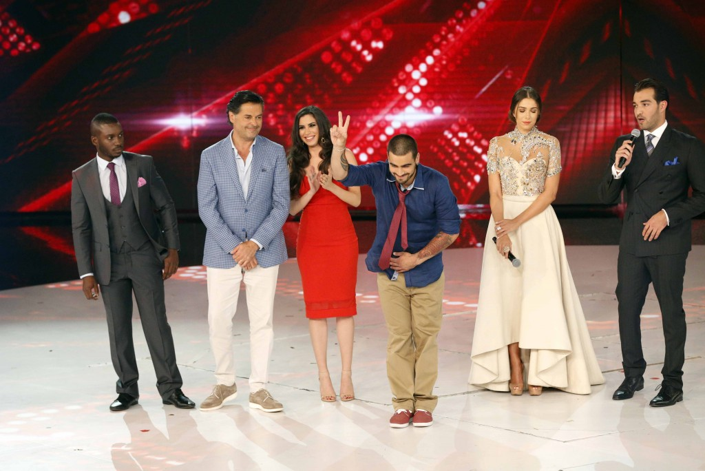 MBC4 & MBC MASR - The X Factor - Live 8 Results (3)