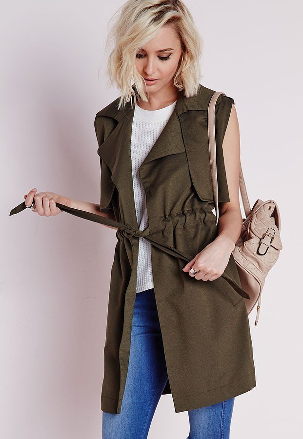 Missguided-Lightweight-Sleeveless-Trench-Coat